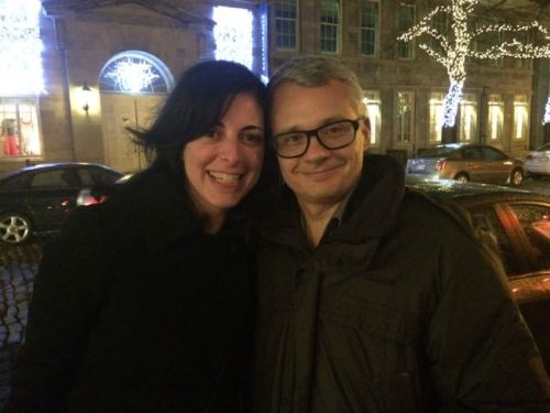 December 28, 2014: Old Montreal!  Le Bremner!