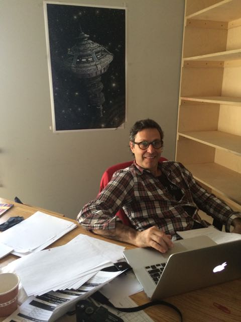 January 22, 2015: Director Paolo Barzman Preps!  The Production Shifts To Waterloo!  And I Eat Doughnuts!