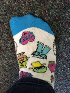 March 2, 2015: Lee Rose!  Caitlin's New Do!  The #104 Director's Cut!  And Socks!