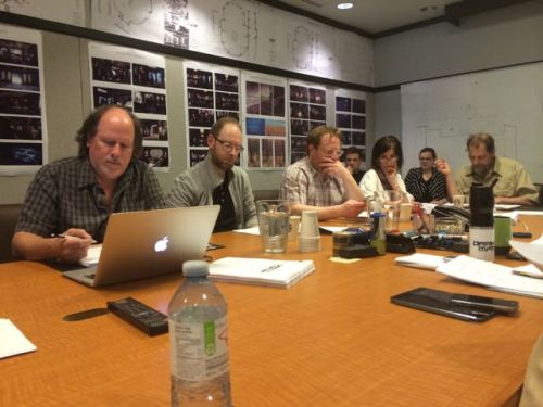 April 17, 2015: Behind The Scenes On Your New Favorite Show – Dark Matter!  And A Jelly Update!