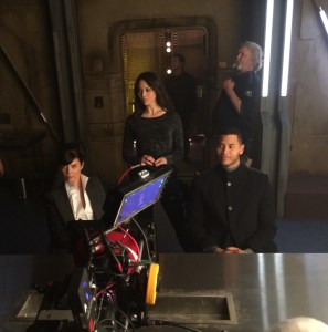 May 25, 2015: The Dark Matter Rollout!  Introducing Melissa O'neil As Two!