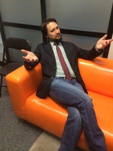 May 5, 2015: Wil Wheaton Drops By For Bourbon.  And Acting!