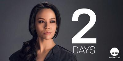 June 10, 2015: 2 Days To The Dark Matter World Premiere! The Space Stations!