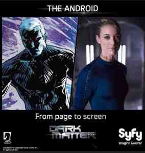 June 24, 2015: Dark Matter Episode 102!  Pics!  Vids!  Secrets!