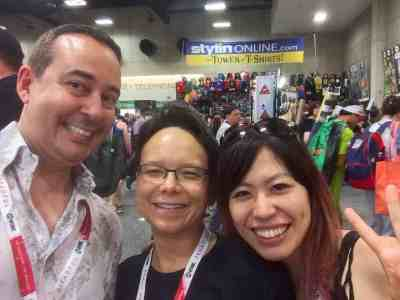 July 9, 2015: San Diego Comic Con!  The Dark Matter Panel!  That Dr. Who/dark Matter Dinner Crossover You've Been Asking For!