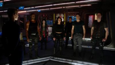 August 25, 2015: Dark Matter's Biggest Holy Sh%t Moments!  The Season One Edition!