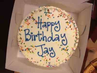 October 31, 2015: Jay's Birthday Bash!