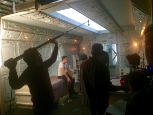 January 8, 2016: Up And At 'em!  Dark Matter In Production!