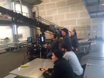 January 4, 2016: Back On Set!  Dark Matter Season 2!