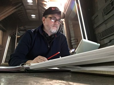 April 7, 2016: Editor/director Paul Day In Action!
