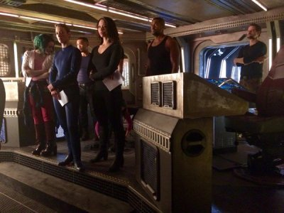 May 9, 2016: And That's A Wrap On Dark Matter's Second Season!