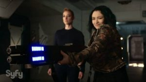 "July 12, 2016: Dark Matter ""episode 15: Kill Them All"" – More Bts Tidbits!"
