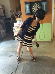 "July 27, 2015: Akemi's Vr Adventure! Dark Matter ""episode 18: We Voted Not To Space You"" Sneak Preview!"