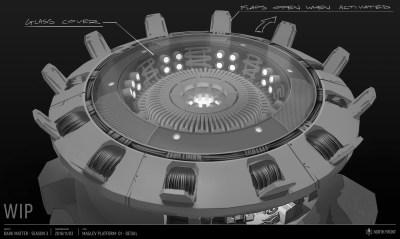 November 7, 2016: Dark Matter Season 3 Concept Art!  What Lies Ahead!