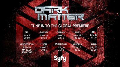 June 6, 2017: Dark Matter Season 3 Bts Pics!