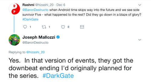 December 18, 2017: The Dark Timeline Revealed?  Some Clues!