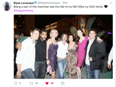 March 11, 2018: Our Massive Online Stargate Reunion!