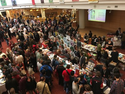 May 13, 2018: Our Day At The Toronto Comics Art Festival!