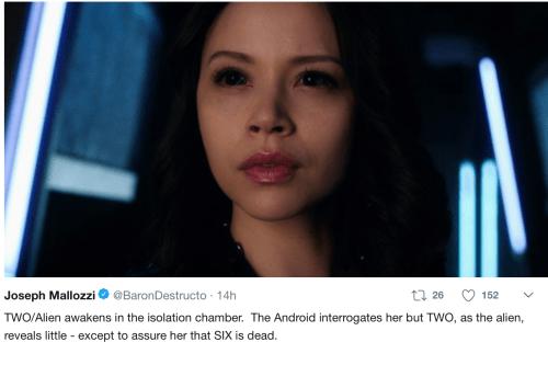 May 17, 2018: Dark Matter Episode 401 – Act 1!
