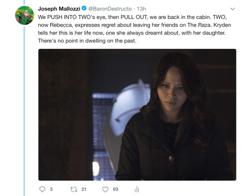 May 18, 2018: Dark Matter Virtual Season 4 – Episode 4.01, Act 2