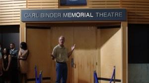 MEMORIAL theatre?  But I'm still alive!