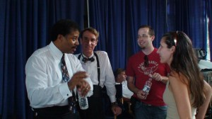 Neil deGrasse Tyson and Bill Nye
