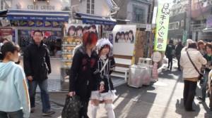 Harujuku street fashion