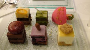 Sadaharu Aoki plat de degustation