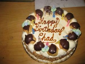 Chadwick's birthday cake.