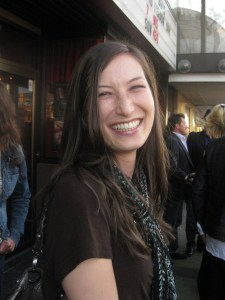 The lovely Jennifer Spence (SGU's Lisa Park).