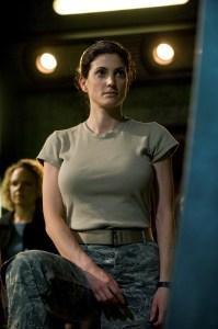 Julia Benson (Lt. Vanessa James) - photo courtesy and copyright MGM Television.