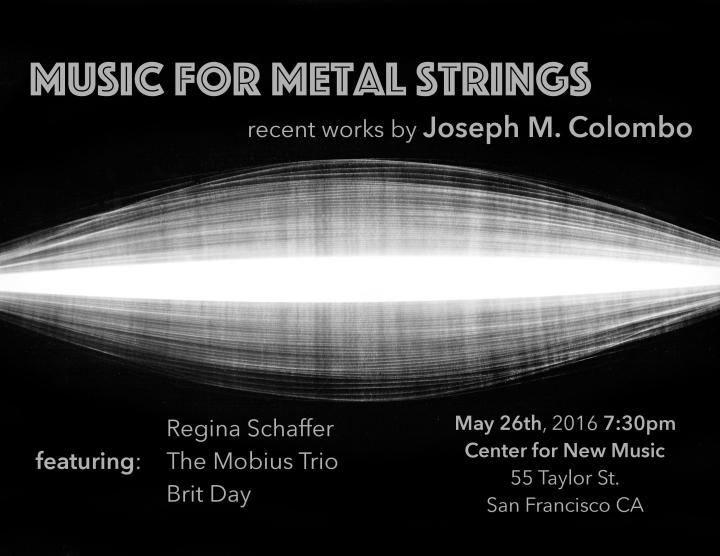 Music for Metal Strings Poster