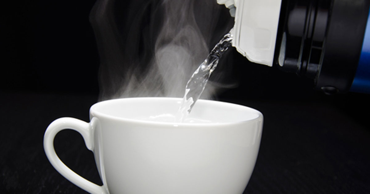 Drinking Hot Water Benefits