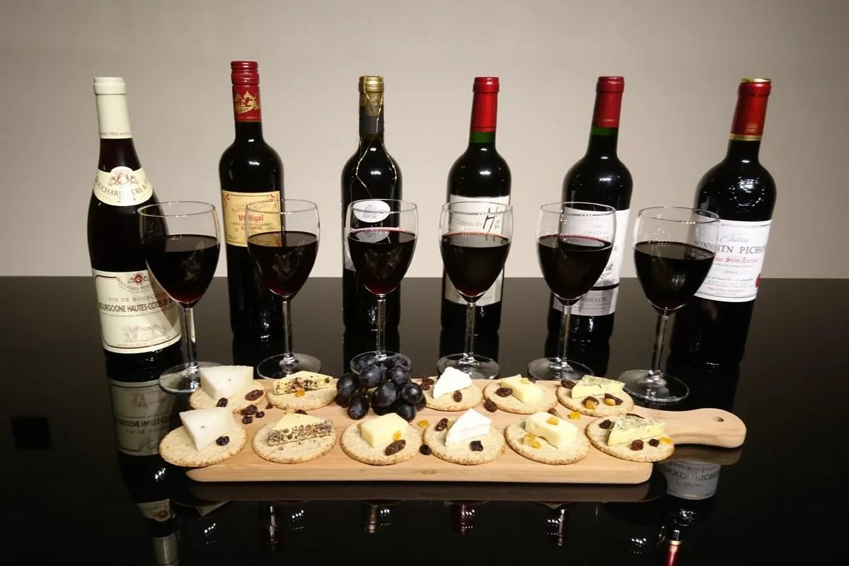 Varieties of Red Wine