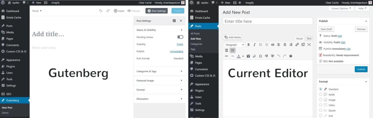 Gutenberg WordPress Block Editor