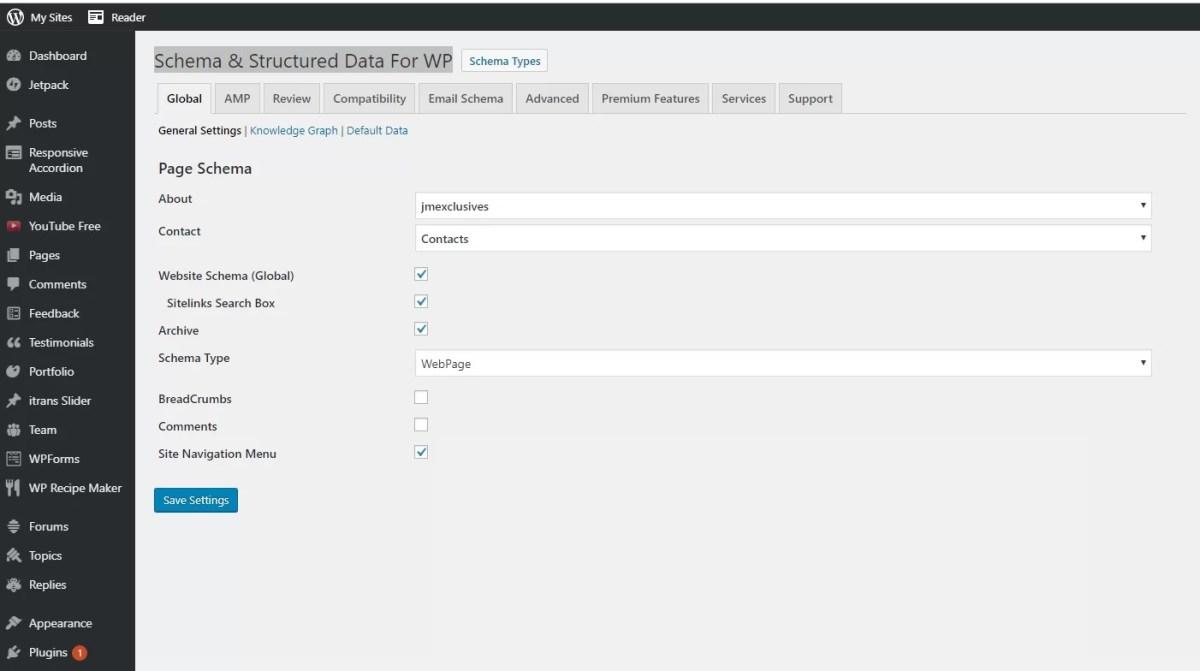 Schema & Structured Data For WP