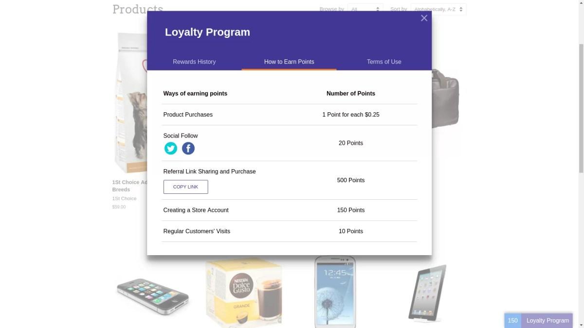 Website Loyalty Point Rewards Plugin Guide