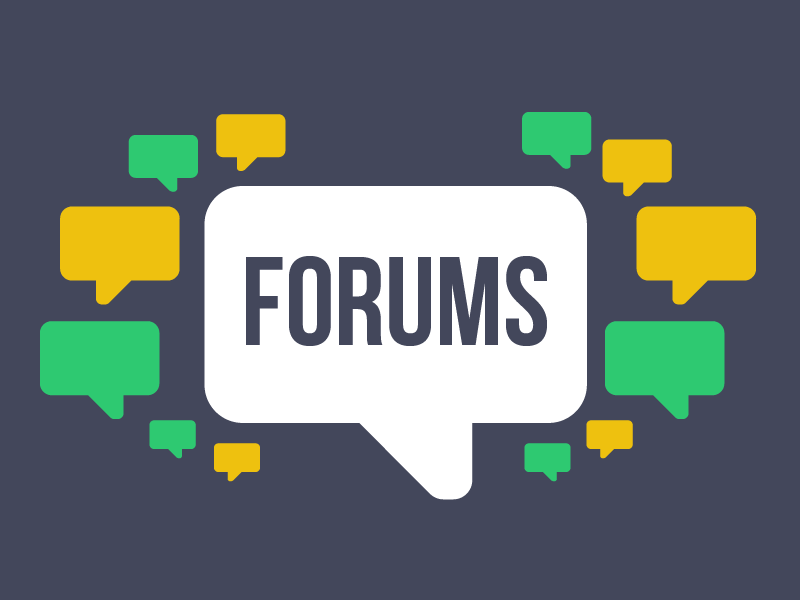 Online Forums and Chats