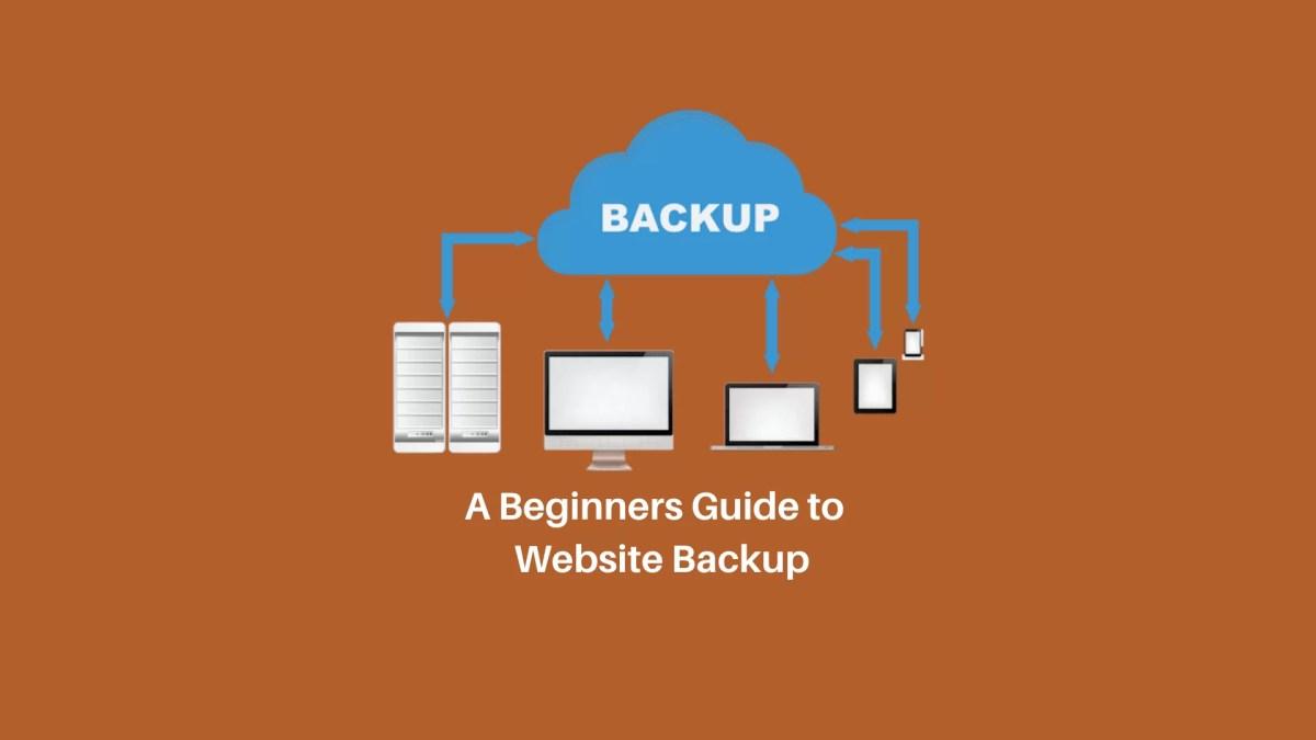 WordPress Website Backup