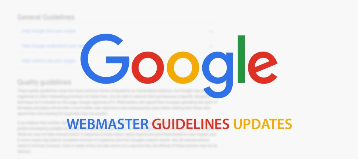 Webmaster Guidelines on Google SEO Penalty