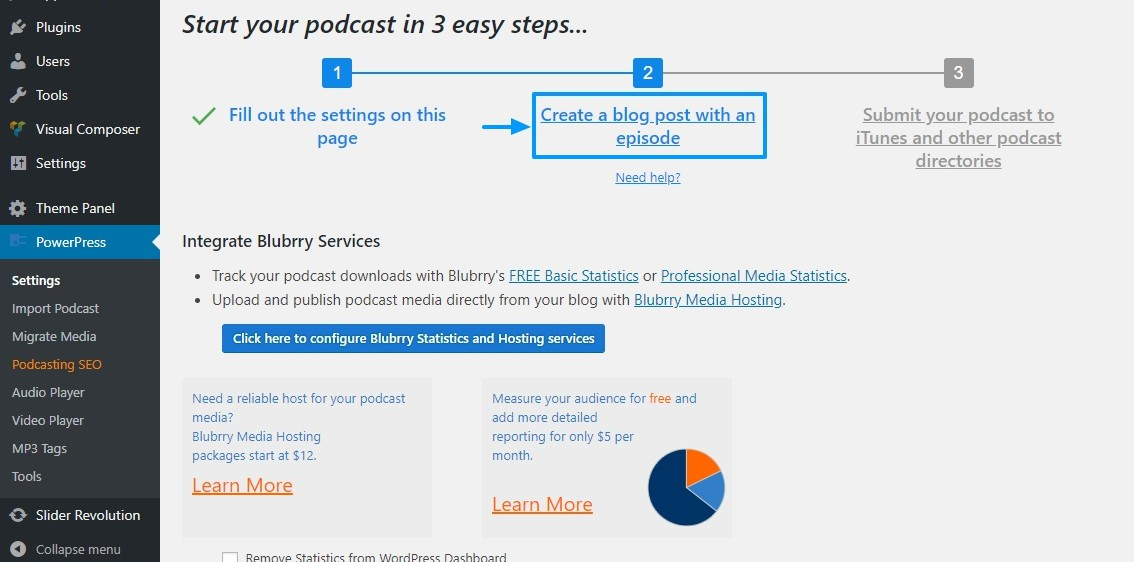 Creating Your First WordPress Podcast