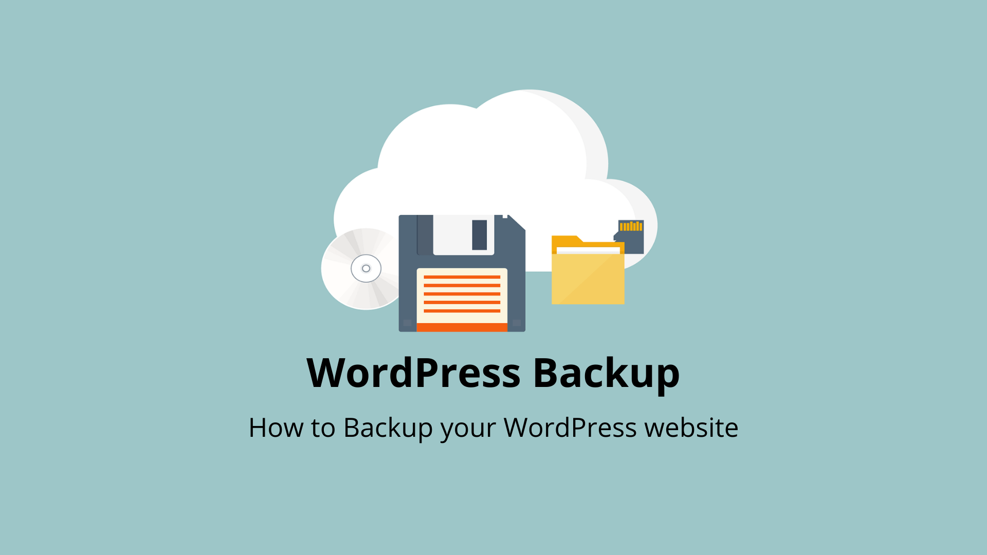 WordPress Backup | Simple Step-by-step Beginners Guide