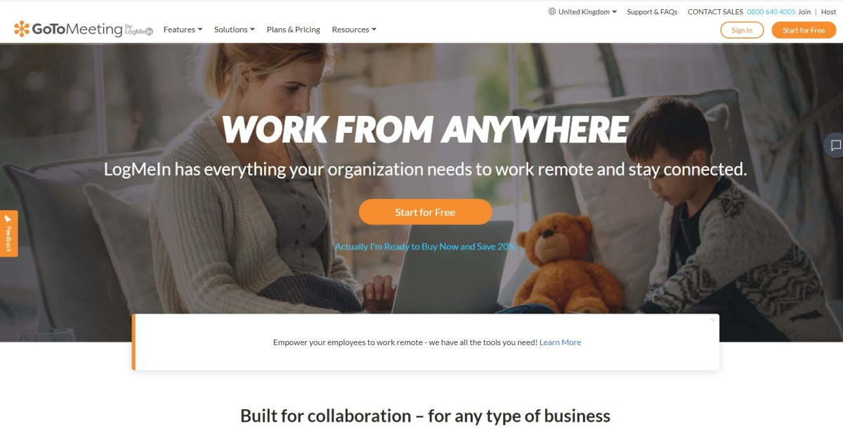 GoToMeeting Video Conferencing Software