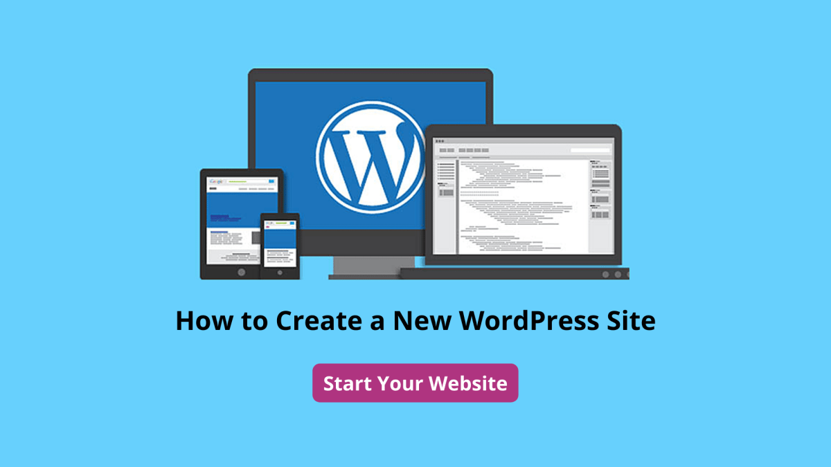 How to Create a New WordPress Site