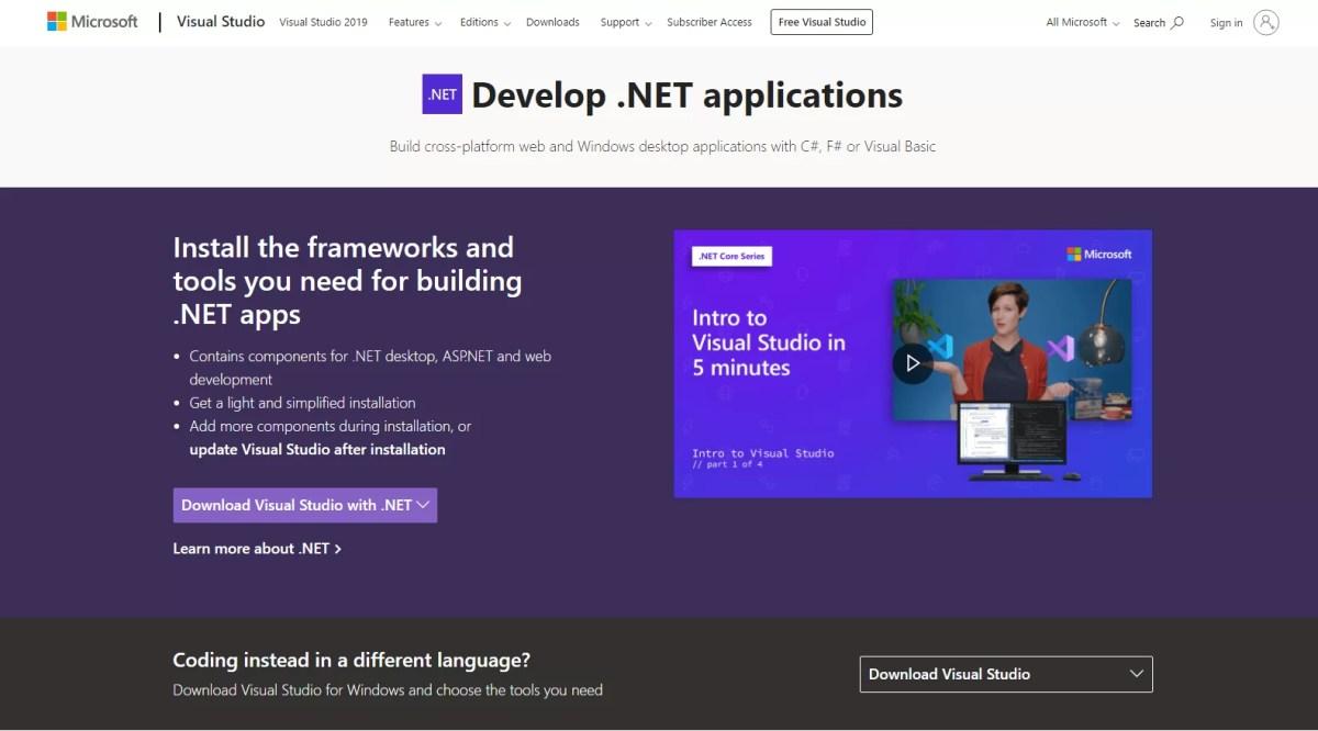 How to Download Microsoft Visual Studio