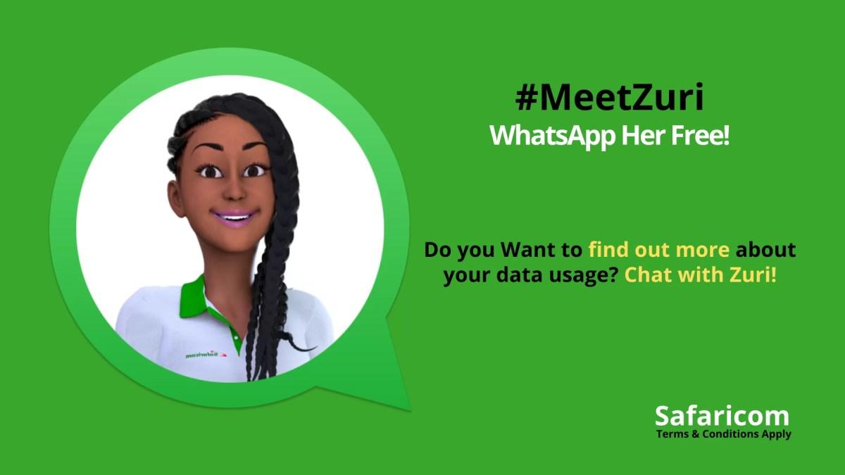 How to WhatsApp Safaricom Zuri for Free