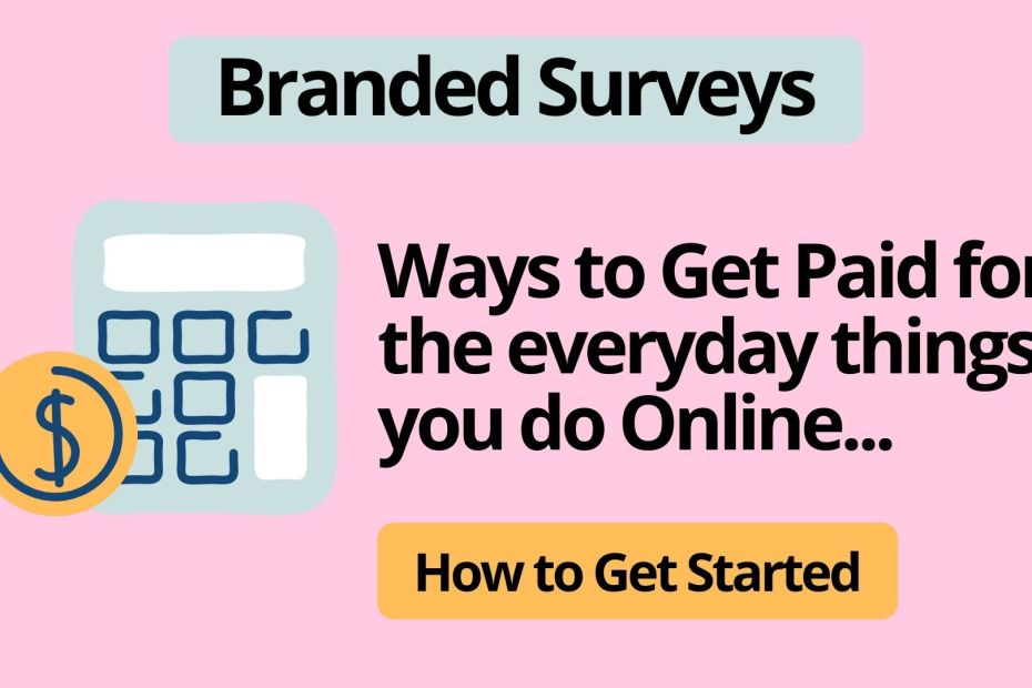 What Are Branded Surveys?