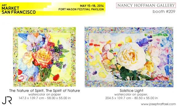 Art Market San Francisco 2014 - Joseph Raffael