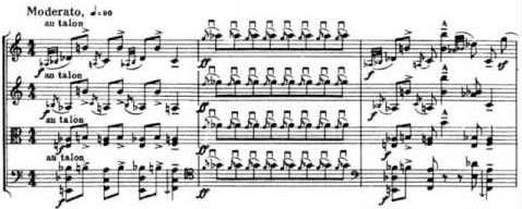 Bartok Quartet 6 gesture excerpt
