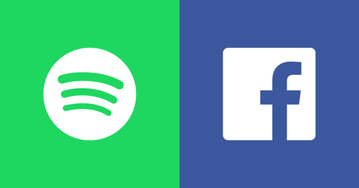 Spotify and Facebook